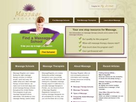 massageregister.com