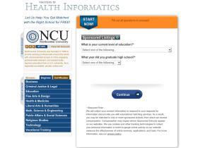 mastersinhealthinformatics.elearners.com