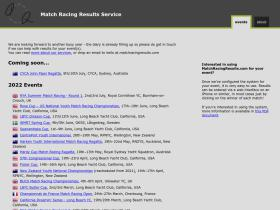 matchracingresults.com