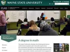 math.wayne.edu