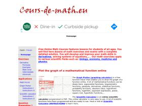 mathematics-class.cours-de-math.eu