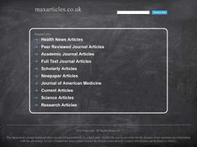 maxarticles.co.uk