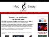may-studio-music-lessons.com