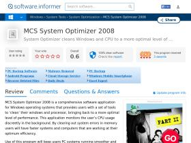 mcs-system-optimizer-2008.software.informer.com