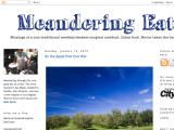 meanderingeats.com