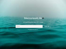 memoriesforlife.co.uk