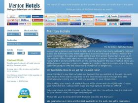 mentonhotels.co.uk