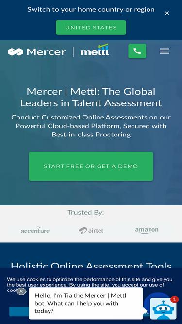 Mettl Amazon Test