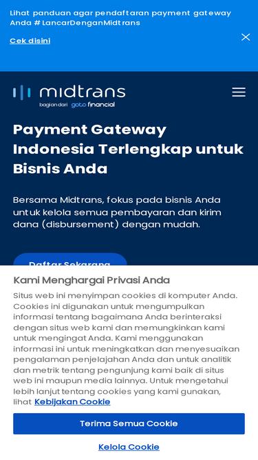 Midtrans com Analytics - Market Share Stats & Traffic Ranking