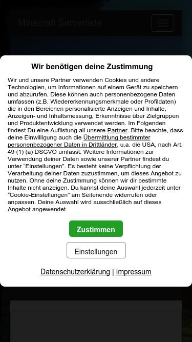 Minecraft-servers de Analytics - Market Share Stats