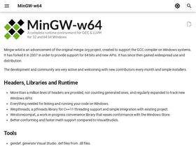 Mingw-w64 org Analytics - Market Share Stats & Traffic Ranking