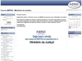 ministerio.justica.inepad.org.br