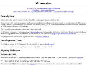 mixmaster.sourceforge.net