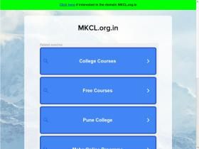 mkcl.org.in