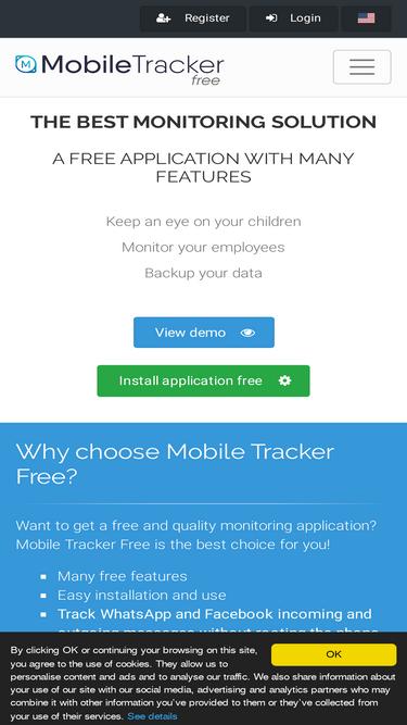 Mobile-tracker-free com Analytics - Market Share Stats
