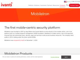 Mobileiron com Analytics - Market Share Stats & Traffic Ranking