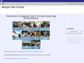 moodle.marplehall.stockport.sch.uk