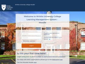 moodle.writtle.ac.uk