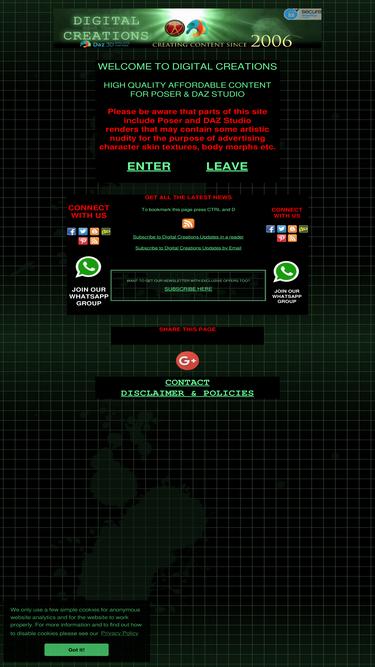 Most-digital-creations com Analytics - Market Share Stats & Traffic