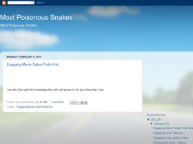 mostpoisonoussnakes2012.blogspot.in