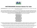 motorhoming.com
