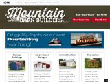 mountainbarnbuilders.com