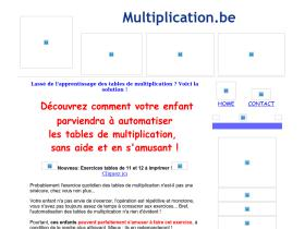 multiplication.be
