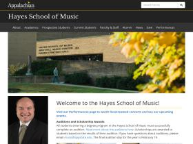 music.appstate.edu