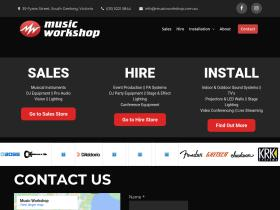 musicworkshop.com.au