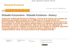 mutuelle-existence-annecy.fr