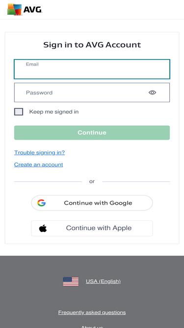 avg my account