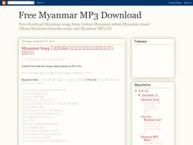 myanmar-music-download.blogspot.com