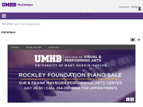 mycampus.umhb.edu