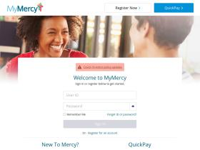 mymercy.net Analytics Stats