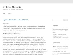 mypokerthoughts.com