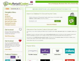 myretailcodes.co.uk