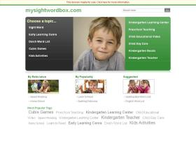 mysightwordbox.com