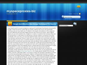myspaceproxies.biz