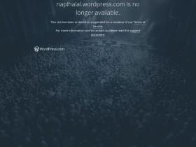Napihalal.wordpress.com Analytics Stats