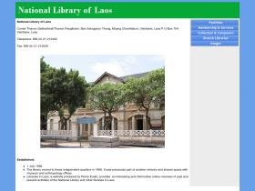 nationallibraryoflaos.org