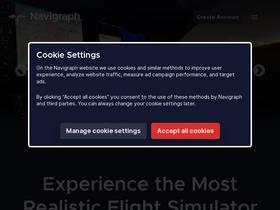 Navigraph com Analytics - Market Share Stats & Traffic Ranking