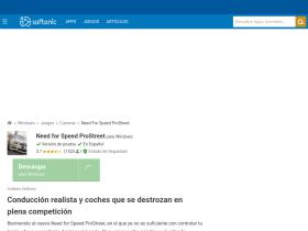 need-for-speed-prostreet.softonic.com