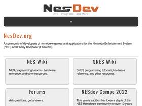 Nesdev com Analytics - Market Share Stats & Traffic Ranking