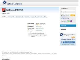 netzero-internet.software.informer.com