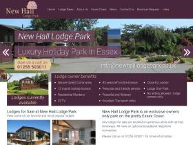newhalllodgepark.co.uk