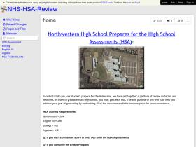nhs-hsa-review.wikispaces.com