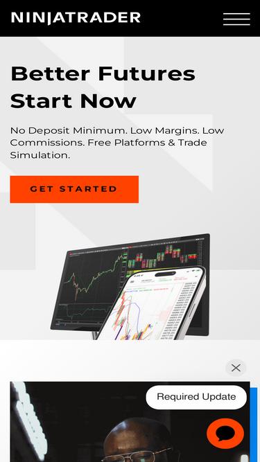 Ninjatrader com Analytics - Market Share Stats & Traffic Ranking