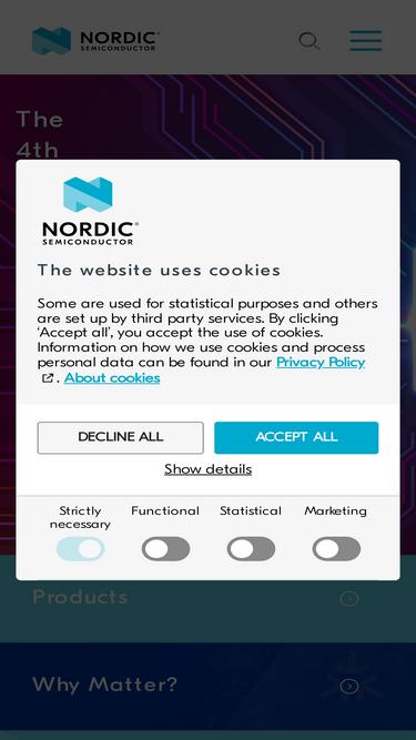 Nordicsemi com Analytics - Market Share Stats & Traffic Ranking