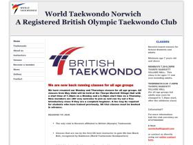 norwichtaekwondo.co.uk