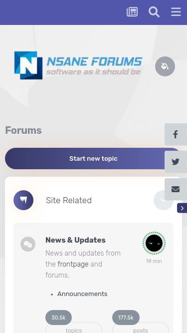 Nsaneforums com Analytics - Market Share Stats & Traffic Ranking